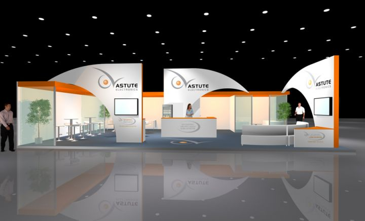 New Dimension Exhibition Stand Design : Astute electronics projects exhibition stands new