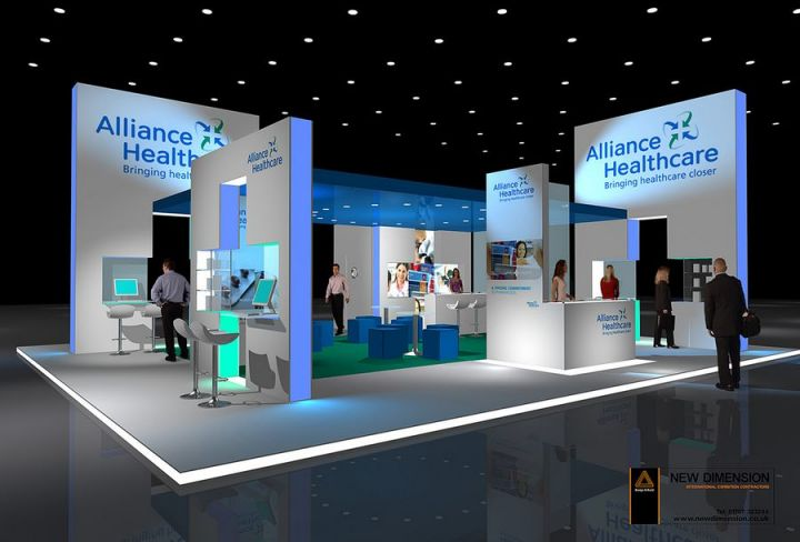 Creative Expo Stands : Alliance healthcare projects exhibition stands new
