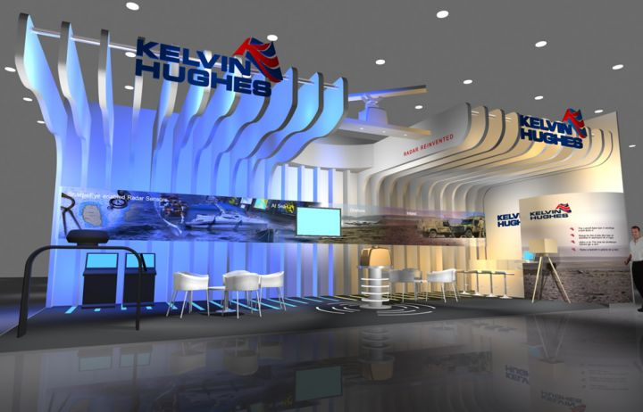 New Dimension Exhibition Stand Design : Kelvin hughes projects exhibition stands new