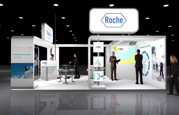 Exhibition Stand Builders Dublin : Roche diagnostics projects exhibition stands new dimension