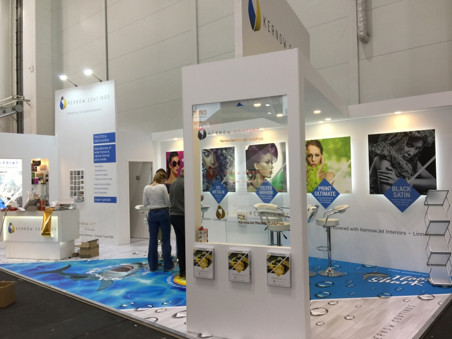 Exhibition Stand Galleries : Kernow coatings stand gallery from new dimension exhibition stands