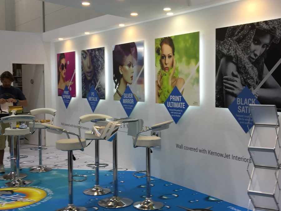 New Dimension Exhibition Stand Design : Kernow coatings stand gallery from new dimension