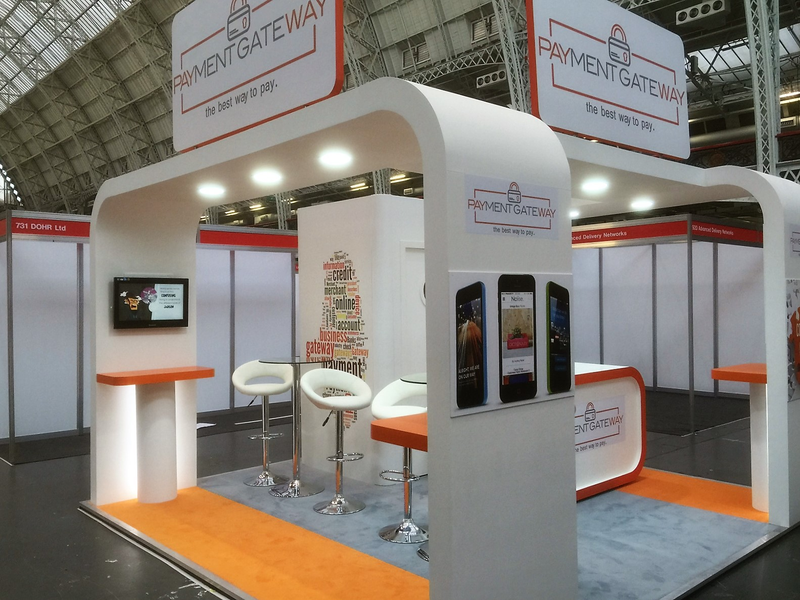 Modern Exhibition Stand Uk : Exhibition stands new dimension